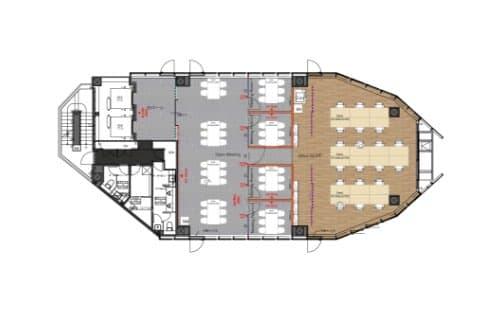10F 専用スペース・専用執務室